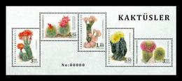 Turkey 2020 Mih. 4589/93 (Bl.202) Flora. Cactus MNH ** - Nuovi