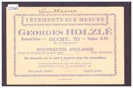 LAUSANNE OUCHY - VETEMENTS SUR MESURE GEORGES HOLZLE - TB - VD Vaud