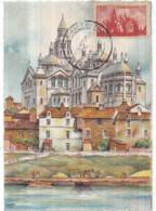 Dépt 24 - PÉRIGUEUX - La Cathédrale Saint-Front - Timbre Correspondant Sur Carte Barré-Dayez N° 2261 B - Périgueux