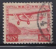 Japan - 1929 - 9.5s - Yv. Airmail 3A - Used - Corréo Aéreo