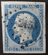 YT 10 (cote 45 €) Obl PC, Margé TB - 1852 Louis-Napoleon