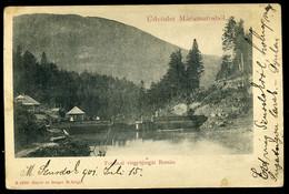 BORSA / MÁRAMAROS 1901. Vízgyűjtő Gát, Régi Képeslap  /  Dam  Vintage Pic. P.card - Hongarije