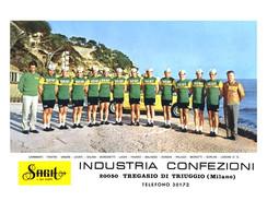 PHOTO RENFORCÉE, HAUTE CALITE, GROUPE TEAM SAGIT 1970 FORMAT 16,5 X 23,5 - Radsport