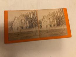 Photo Stéréo Vers 1880  Castelet Bonnemaison  Luchon 31 Haute Garonne - Stereoscopio