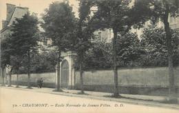 """/ CPA FRANCE 52 """"Chaumont, école Normale De Jeunes Filles"""" - Chaumont"""