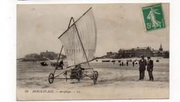 62 - BERCK-PLAGE - Aéroplage (char à Voile) - Animée - (C123) - Berck