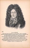 HISTOIRE DUC DE COISLIN 14-0058 - Geschichte