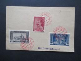 Österreich / Bosnien Und Herzegowina Nr. 121 / 123 Auf Blanko FP Karte Mit Rotem Stempel K Und K Milit. Post Sarajevo - Bosnien-Herzegowina