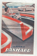 Publicité ,PANHARD ,la DYNA 57 , 24 Heures Du Mans , 8 Pages, 5 Scans, Frais Fr 1.95 € - Pubblicitari