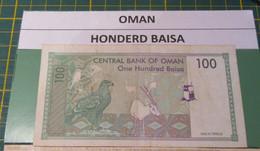 BANKNOTE OMAN 100 BAISHAS - Oman