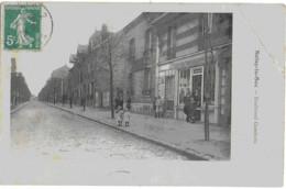 NOISY-LE-SEC - BOULEVARD GAMBETTA - BELLE ANIMATION - 1912 - Noisy Le Sec