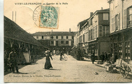 -51- MARNE  - VITRY-LE-FRANCOIS -   Quartier De La Halle - Vitry-le-François