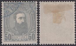 Congo 0010(o) Léopold II - 1884-1894 Precursori & Leopoldo II