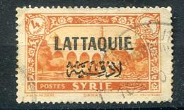 Lattaquie 1931 YT 11 Obl.4 Piastres. Syrie - Oblitérés