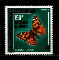DJIBOUTI - 1977 - YT N° 455 - ** - - Vlinders