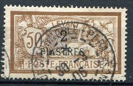 FRANCE ( LEVANT ) : Y&T  N°  20  TIMBRE  BIEN  OBLITERE , A  VOIR  . B 30 - Usados