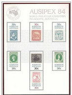 AUSTRALIA 1984 MNH ** AUSIPEX 84 PHILATELY STAMPS - Sin Clasificación