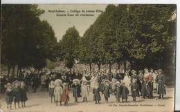 CPA 88 - Vosges - Neufchateau - College De Jeunes Filles  Grande Cour De Récréation - Other Municipalities