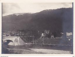 ISERE VIZILLE VUE GENERALE SUR LA VALLEE 1928 - Luoghi
