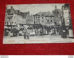 LEUVEN - LOUVAIN  -  La Place Du Vieux Marché Pendant Le Marché -  1903 - Leuven