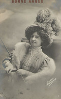 Oude Foto Postkaart. Gudrun Hildebrandt. EAS Kaart 1910 - Artiesten