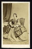 GRAZ 1860. Cca. Rottmayer : Fabricius (tótlipcsei) Henny  Régi Visit Fotó - Sin Clasificación