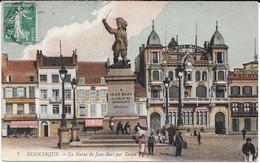 Cpa Dunkerque - La Statue De Jean-Bart Par David D'Angers . - Dunkerque