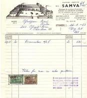 Fabrique De Produits D'entretien - Fabriek Van Onderhouds Produkten - SAMVA - Etterbeek 1963. - Droguerie & Parfumerie