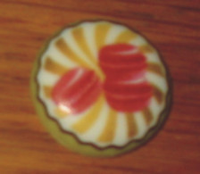 Fève 192 Les Macarons Art Fun I Love Cake Bofrost - Unclassified