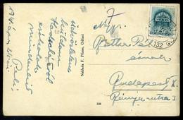 HÓDSÁG II. VH Képeslap, M Kir.Posta 132 Kisegítő Bélyegzéssel - Brieven En Documenten