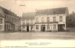 België - Contich - Place Communale Gemeente Plaats - Fortuin Afspanning - 1900 - Zonder Classificatie