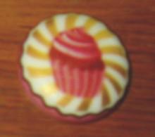 Fève 194 Le Cupecake Art Fun I Love Cake Bofrost - Unclassified