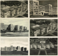 BAUHAUS-STIL - FRANKFURT/Main - 6 Versch. Ak D. Verwaltungs- U. Wirtschafts-Gebäude D. I.G.FARBEN AG I - Non Classificati