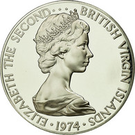 Monnaie, BRITISH VIRGIN ISLANDS, Elizabeth II, Dollar, 1974, Franklin Mint - British Virgin Islands