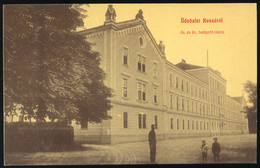 KASSA 1910.cca. Hadapród Iskola, Régi Weisz Lipót Képeslap              ##  /  KASSA Ca 1910 Page School Vintage Lipót W - Hongarije