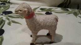 TRES ANCIEN JOUET FIGURINE , Petit MOUTON En BOIS & LAINE , 1900/20 , OLD TOY , WOOD & WOOL SHEEP - Toy Memorabilia