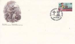CANADA. 1984 - YT N°869 - JACQUES CARTIER - QUEBEC - 1981-1990