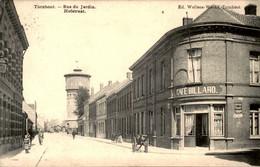 België - Turnhout - Rue Du Jardin - Hofstraat - Cafe Billard - 1908 - Zonder Classificatie
