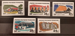 Polynésie Française/French Polynesia 1969 N°72/76 Nd **TB - Ungebraucht