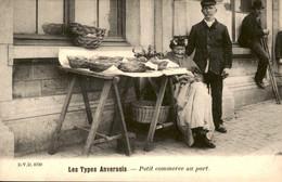 België - Anvers Antwerpen - Les Types Anversois - Petit Commerce Au Port  - 1900 - Zonder Classificatie