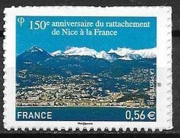 France 2010 Timbre Adhésif Neuf N°469 Nice Cote 5,00 Euros - Adhésifs (autocollants)