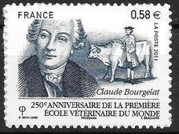 France 2011 Adhésif N° 565 Neuf école Vétérinaire De Lyon Cote 4 Euros - Adhésifs (autocollants)