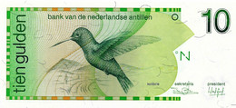ANTILLES NEERLANDAISES 1986 10 Gulden - P.23a Neuf UNC - Antille Olandesi (...-1986)