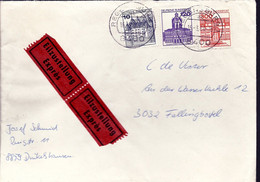 BRD Expresse Brief Met Diverse Zegels (120) - Covers & Documents