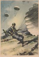 Cartolina - Postcard /  Non Viaggiata -  Unsent /   Cartolina In Franchigia Per Le Forze Armate - Paracadutisti. - Guerre 1939-45