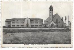 Kontich  Kerk En Juvenaat St Rita - Kontich