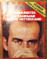 Le Nouvel Observateur N°531_du 13 Au 19 Janvier 1975_communistes: Campagne De Mitterrand_ Kissinger - Politics