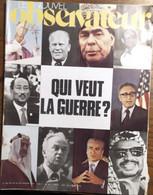 Le Nouvel Observateur N°532_du 20 Au 26 Janvier 1975_Qui Veut La Guerre ? - Politics