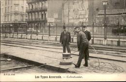 België - Anvers Antwerpen - Les Types Anversois - Cabestanier - 1900 - Zonder Classificatie
