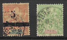 Sénégal   N° 21 Et 26    Oblitérés     B/TB   Soldé     Le Moins Cher Du Site  ! ! ! - Used Stamps